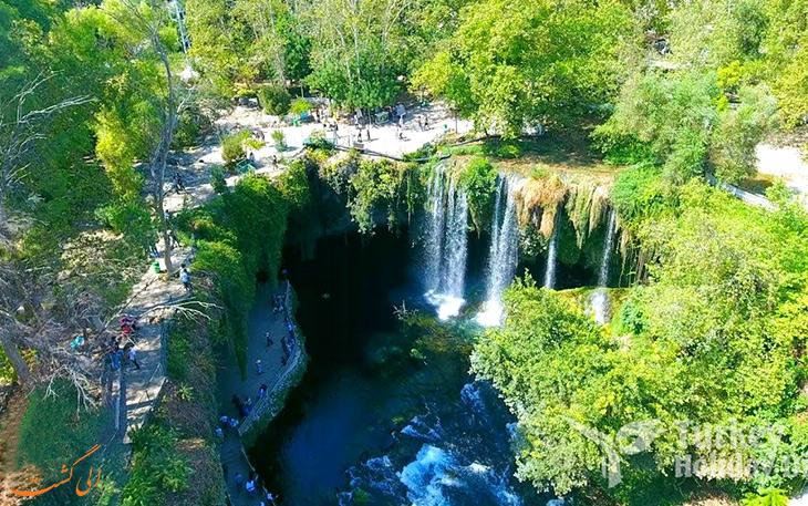 آبشارهای دودن در آنتالیا