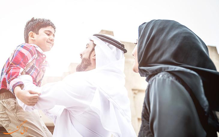 امنیت در شهر دبی