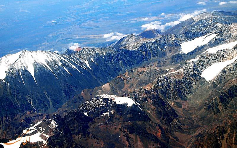 کوه های آند در پرو