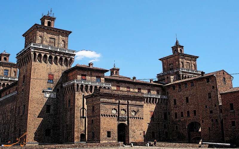 قلعه استنسه فرارا