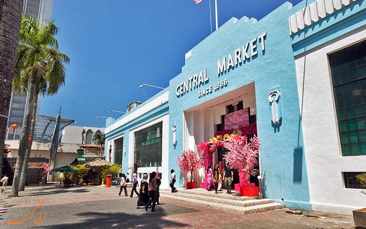 مرکز خرید سنترال مارکت کوالالامپور
