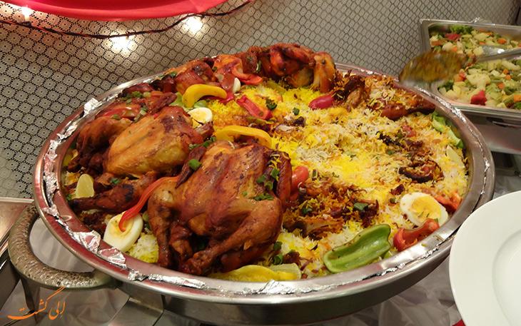 غذای عربی قوزی