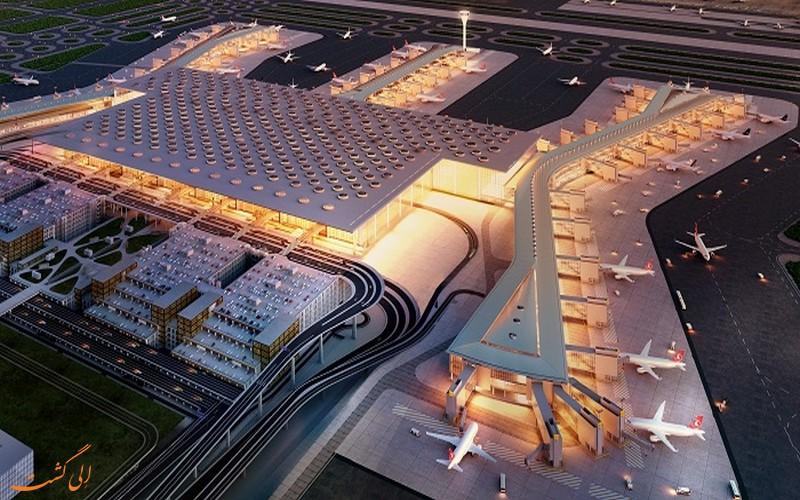 افتتاح فرودگاه جدید در استانبول