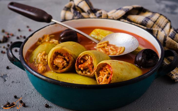 غذای کوسا محشی قطر