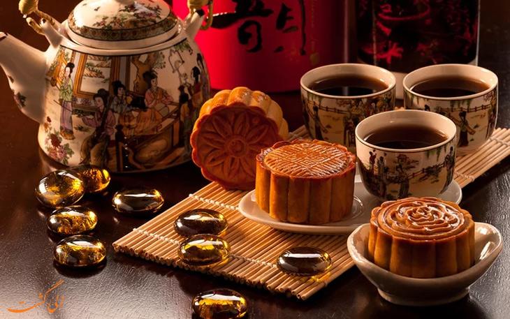 مون کیک چین