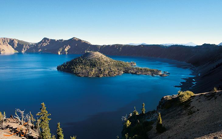 دریاچه دهانه آتشفشان