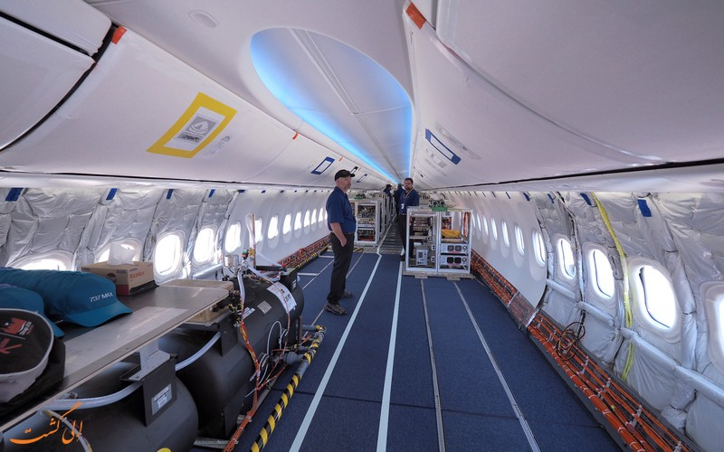 داخل کابین بوئینگ 737 مکس
