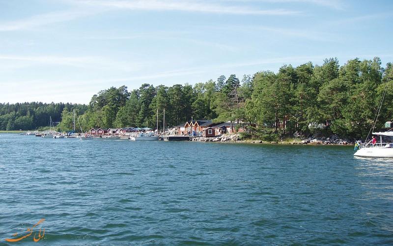 جزیره اسوارتسو سوئد