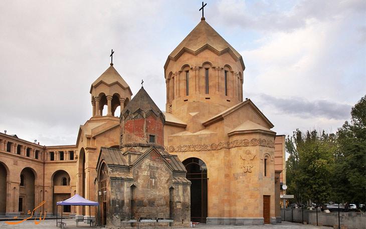 کلیسای قرون وسطی ایروان