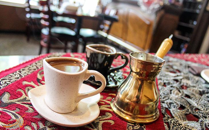 قهوه ی ترکی بنوشید
