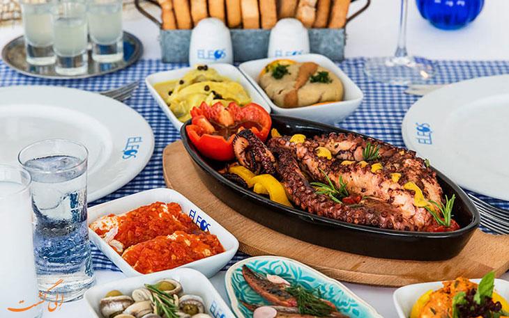 رستوران دریایی استانبول