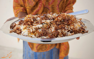 غذاهای عمان
