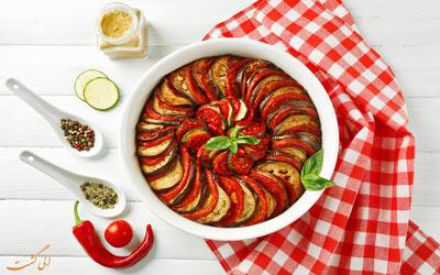 معروف ترین غذاهای فرانسوی