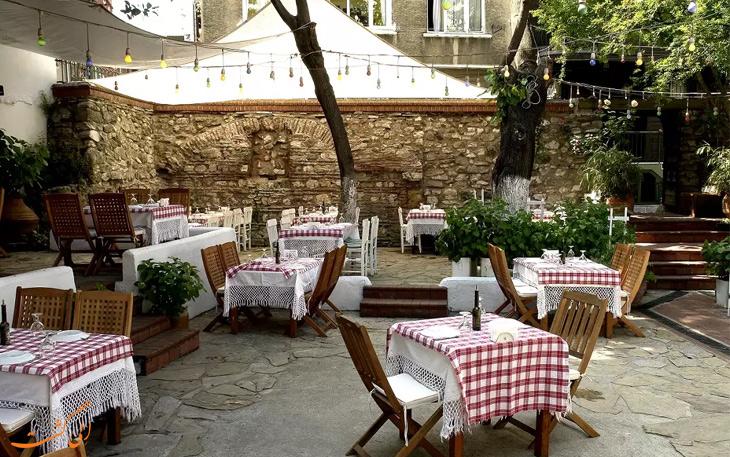 رستوران گیرتیلی استانبول