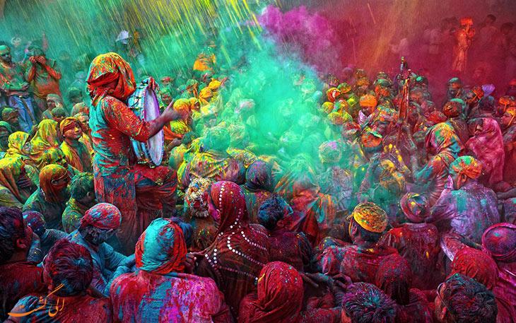 فستیوال هولی هند