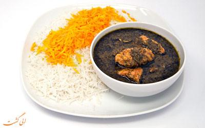 معروف ترین غذاهای محلی ایران