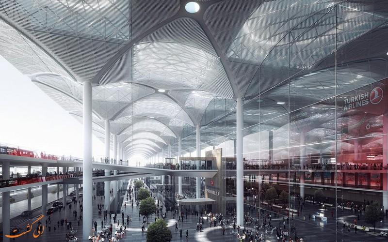 افتتاح فرودگاه جدید استانبول