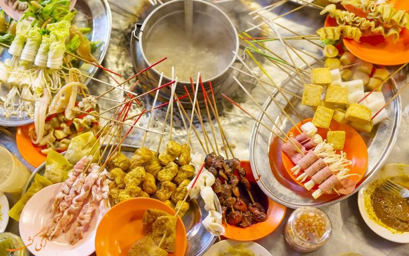 غذای لوک لوک مالزی