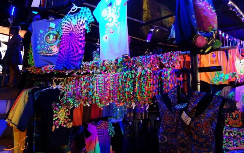 بازار محلی مکی در گوا