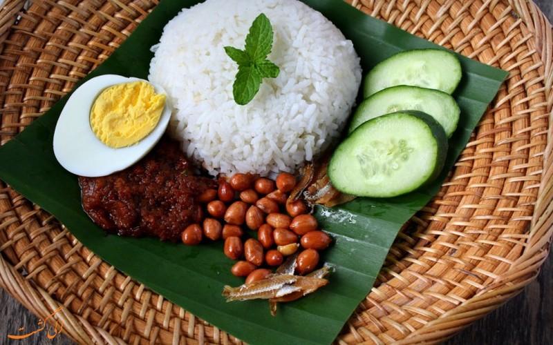 غذای نسی لماک مالزی