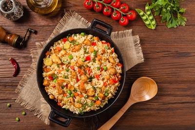 انواع غذاهای برنجی دنیا