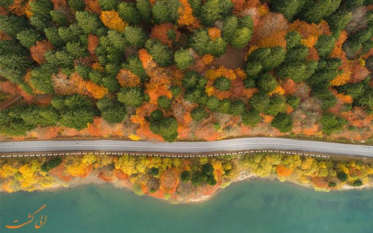 دریاچه شائوری گرجستان