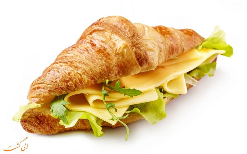 انواع نان کروسان