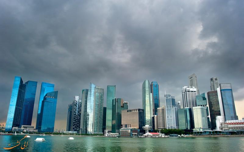 میزان بارش باران در سنگاپور