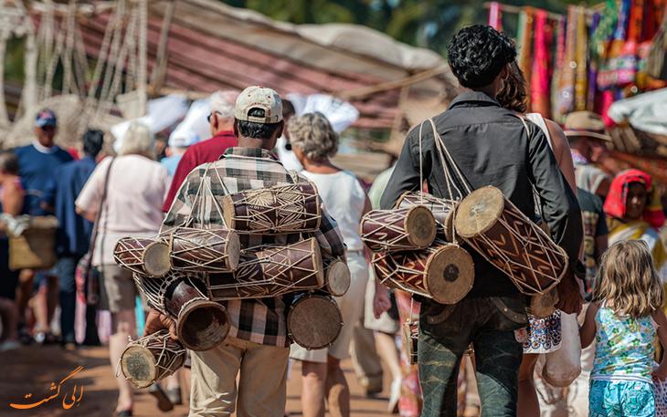 بازار محلی و سنتی در گوا