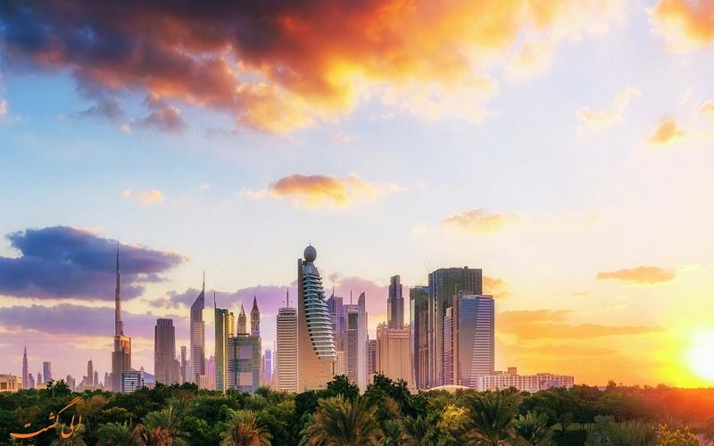 نمایی از دبی
