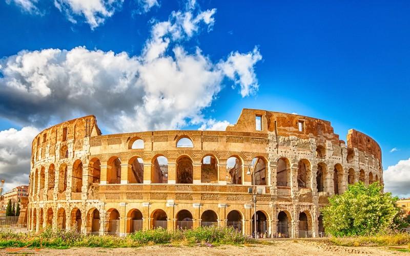 بناهای قدیمی ایتالیا