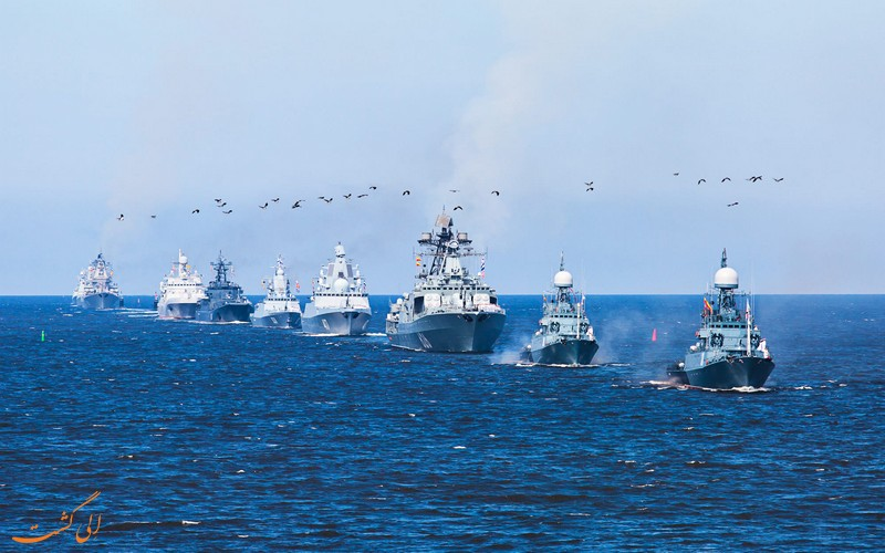 ساحل روسیه در دریای خزر