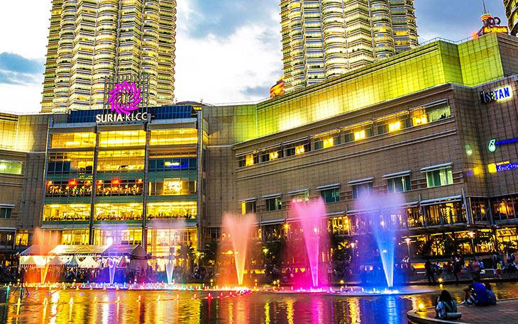 مرکز خرید سوریا کی ال سی سی کوالالامپور