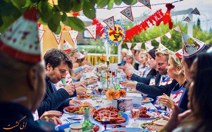 فستیوال خرچنگ سوئد