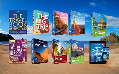 کتاب های راهنمای سفر