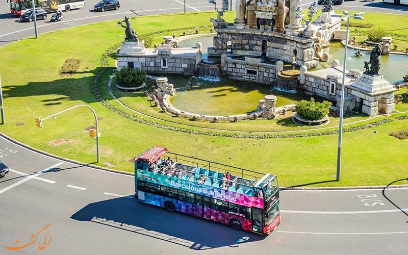 تور اتوبوسی بارسلونا