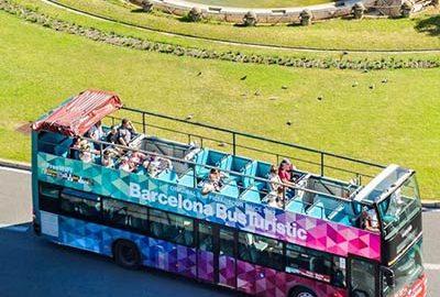 اتوبوس هاپ آن هاپ آف بارسلونا-الی گشت