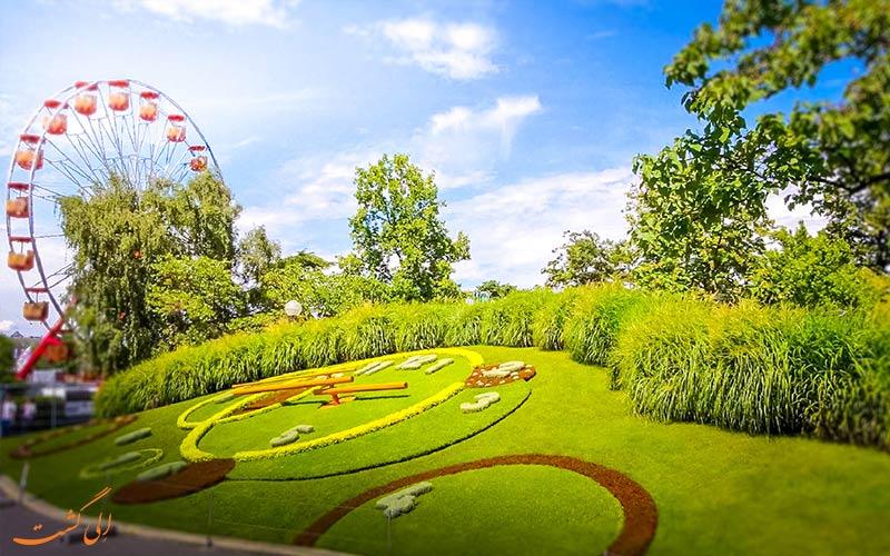 باغ انگلیسی و ساعت گل ژنو