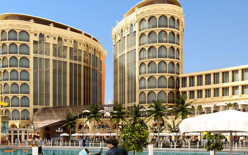 جاذبه های تفریحی محله اسپرت سیتی دبی