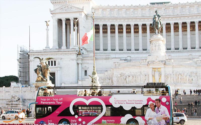 تور اتوبوسی آی لام رم-تور رم ایتالیا
