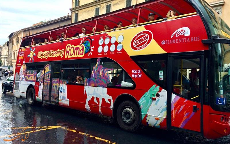 تور اتوبوسی هاپ آن هاپ آف رم-تور ایتالیا