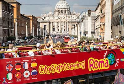 تورهای اتوبوسی رم-الی گشت