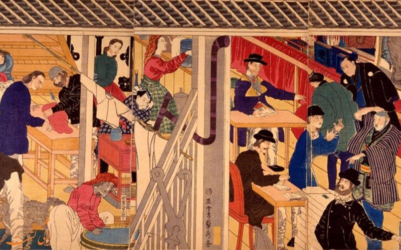 حقایقی تاریخی از ژاپن-چاپ رنگی