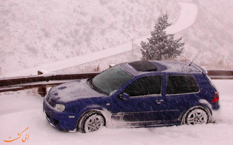 رانندگی در برف و یخ-لوازم ضروری