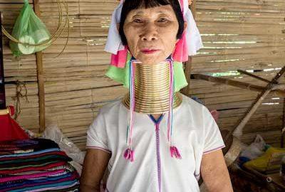 قبیله کارن گردن دراز تایلند-الی گشت