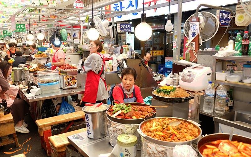 سفر 5 روزه به سئول-بازار غذا