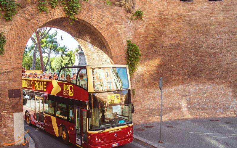 تورهای اتوبوسی رم