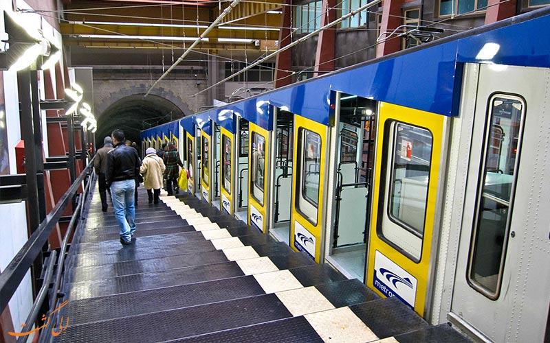 فونیکولار ایتالیا- قطار کابلی