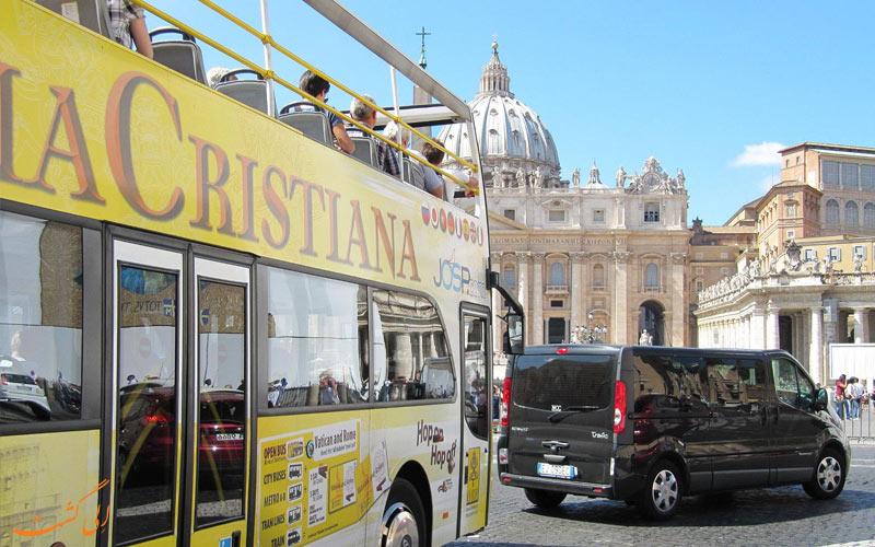 تور اتوبوسی د رم کریستینا