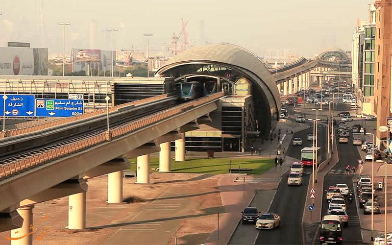 منطقه آل برشا دبی-خط مترو
